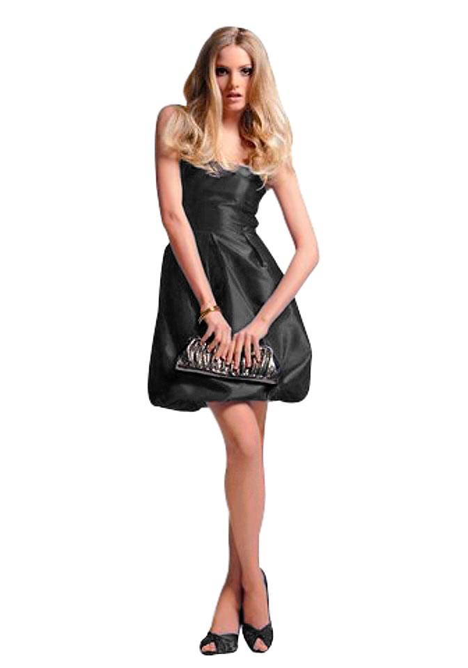 Bruno Banani, černé koktejlové šaty (vel.36 skladem)