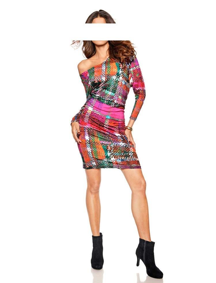 Pestré žerzejové šaty, HEINE