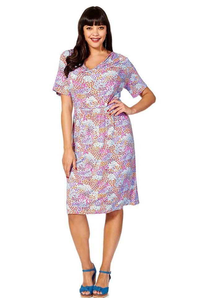Značkové Millefleurs šaty Joe Browns (vel.58 skladem)