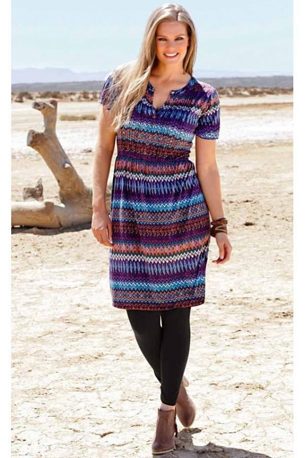 Skladem Značkové šaty pro plnoštíhlé levně f099bec097