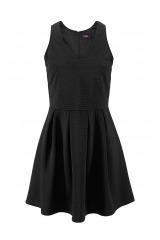 Šaty se skládanou sukní BUFFALO, malé černé