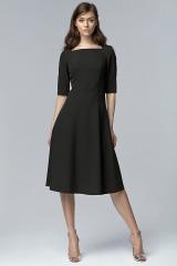 Jednoduché elegantní šaty NIFE (vel.40 skladem)