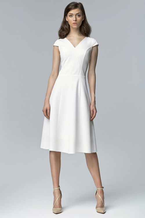 Jednoduché elegantní šaty NIFE (vel.34 skladem)