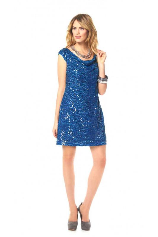 Třpytivé šaty s flitry 4402213bb9