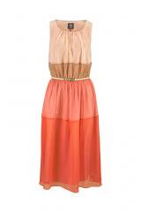 Luxusní šaty VINCE CAMUTO se zlatým páskem (vel.36 skladem)