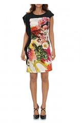 Šaty s květinovým potiskem, Ashley Brooke (vel.40 skladem)