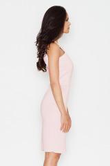 Krásné šaty FIGL z materiálu ve vzhledu neoprenu (vel.S skladem)