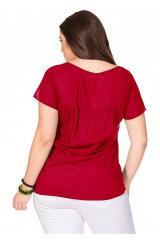 Halenkové triko SHEEGO, nadměrné velikosti dámské (vel.52/54 skladem)