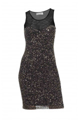 Třpytivé šaty s flitry, pajetkové šaty, flitrové šaty