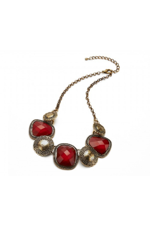 Kovový náhrdelník, INTRIGUE (1 ks skladem)