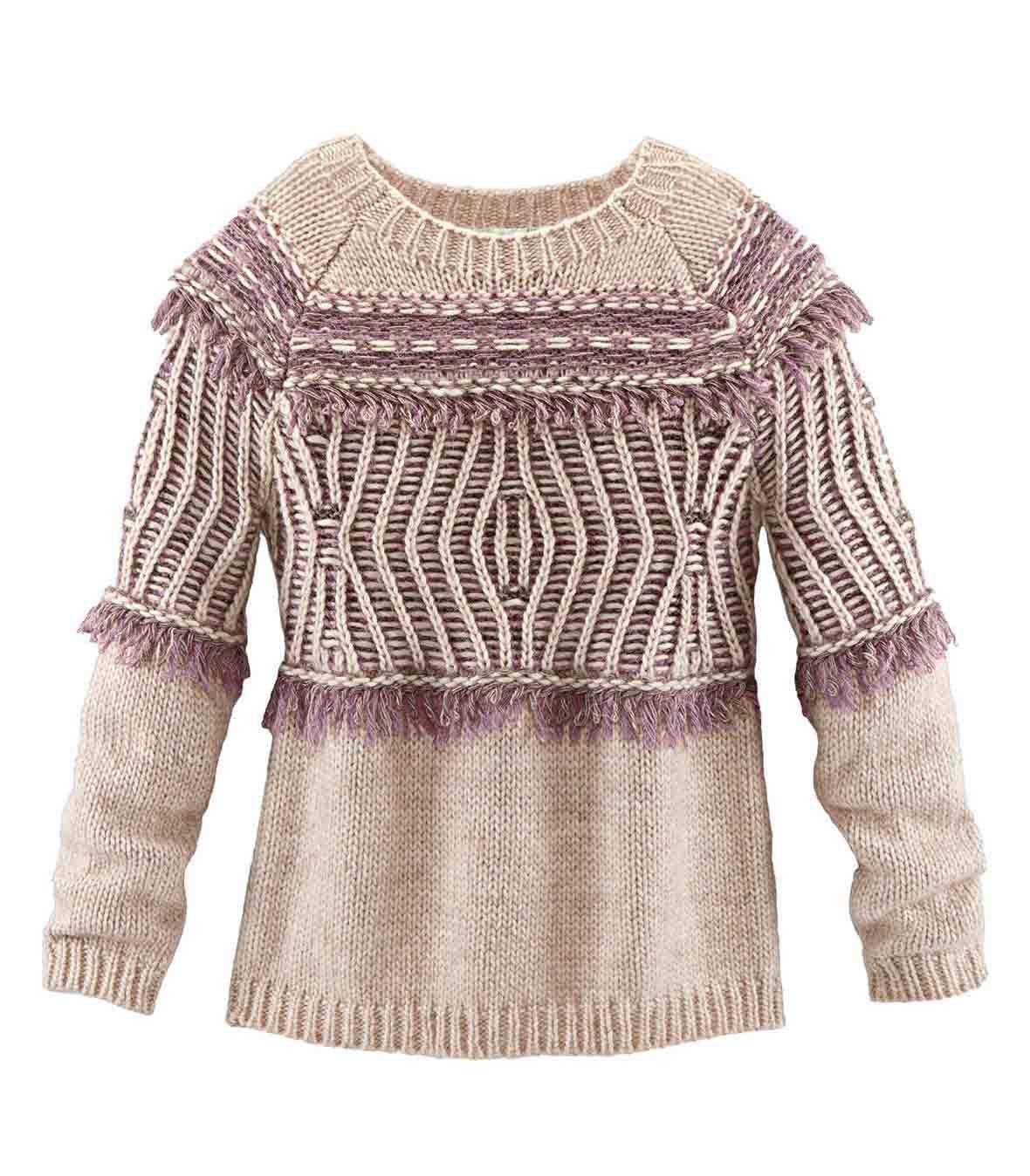 Značkový svetr MAKENA LEI, značkové oděvy levně (vel.42 skladem)
