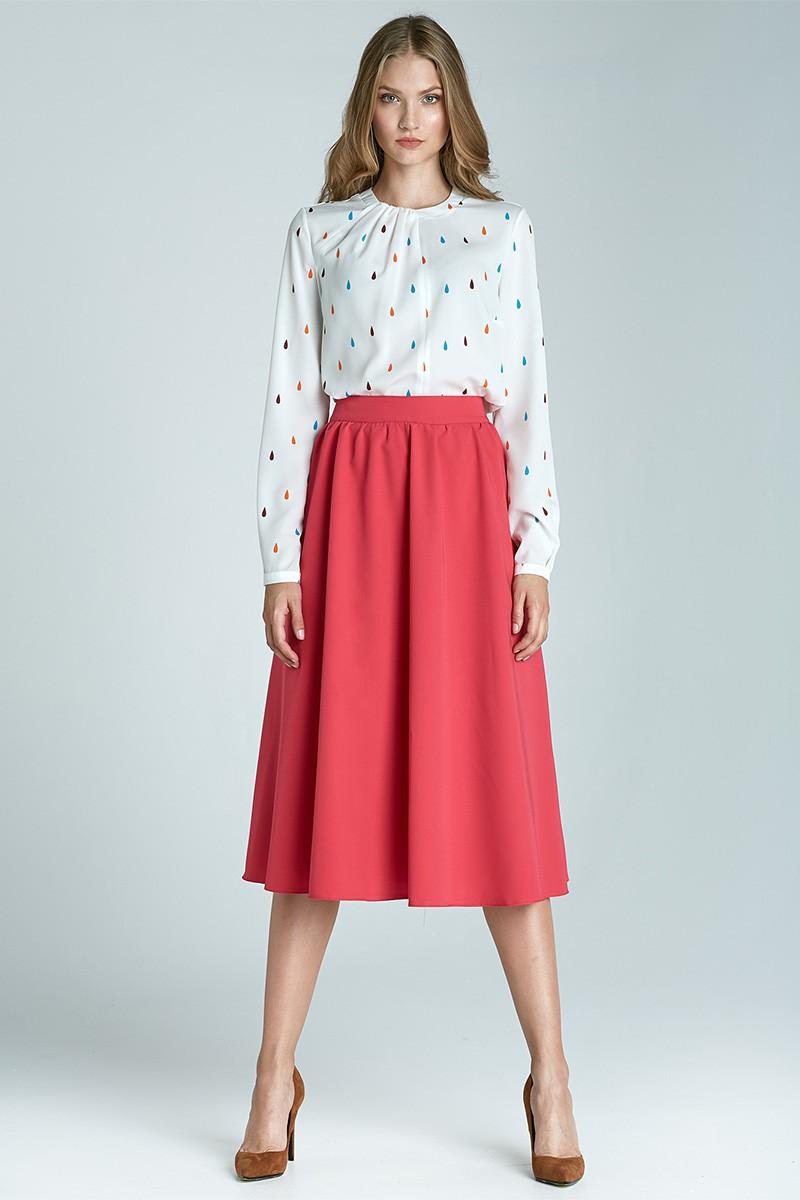 Módní sukně Midi NIFE, sukně midi pod kolena (vel.36 skladem)