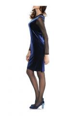 Sametové šaty HEINE, dámské sametové šaty (vel.46 skladem)