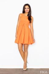 Šaty, dámské šaty styl Audrey Hepburn, Figl