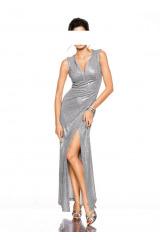 Plesové třpytivé dlouhé šaty Ashley Brooke Event (vel.36 skladem)