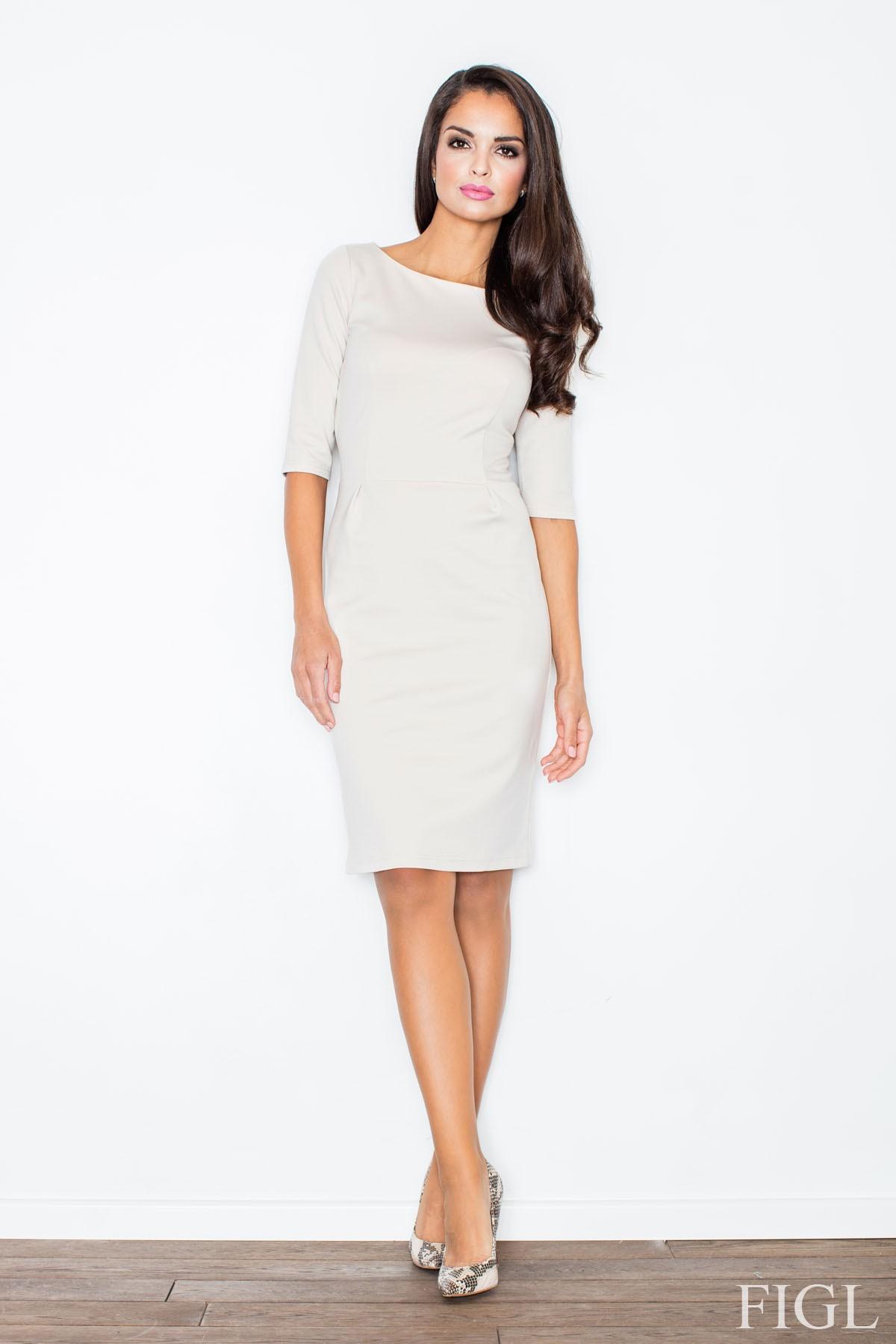 Pouzdrové šaty FIGL (vel.XL/42 skladem)