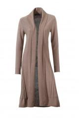 Dlouhý pletený kabát CLASS INTERNATIONAL (vel.38 skladem)