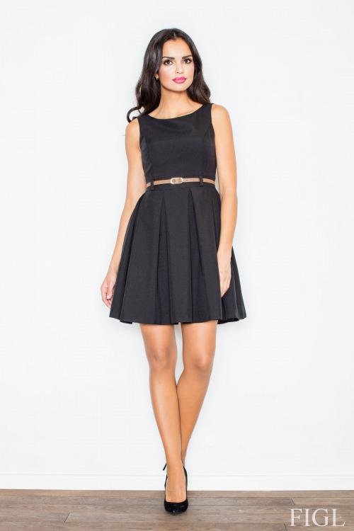 Šaty, dámské šaty styl Audrey Hepburn, Figl (vel. S/36,  M/38 a XL/42 skladem)