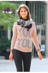 Dámský svetr nadměrná velikost, nadměrný svetr TOM TAILOR