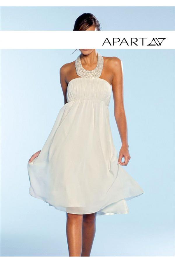 Skladem Šifonové večerní nebo svatební šaty APART (vel.42 skladem) 1d24d81ce5