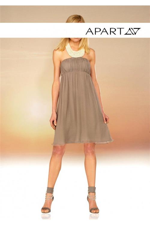 Šifonové večerní babydoll šaty APART