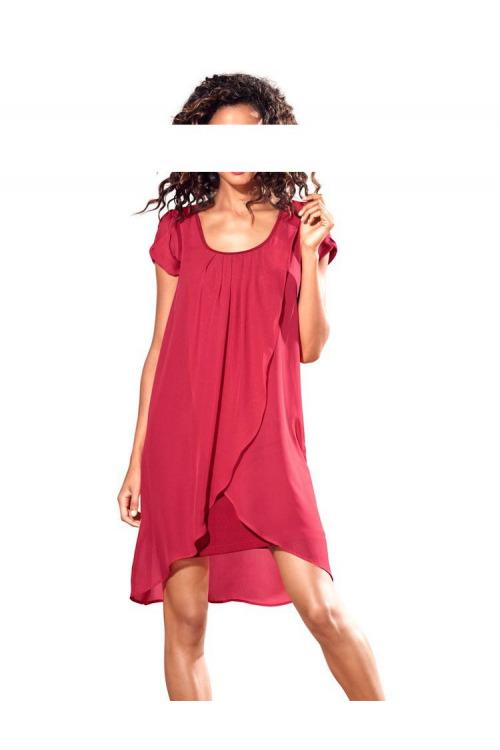 Šifonové šaty HEINE (vel.34 skladem)