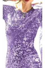 APART pouzdrové třpytivé šaty s flitry