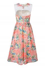 Šaty z organzy v pastelových tónech APART, šaty na maturitní ples (vel.36,38 skladem)