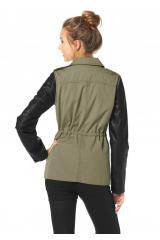 Bunda pro mladé, military jarní bunda AJC (vel.42 skladem)