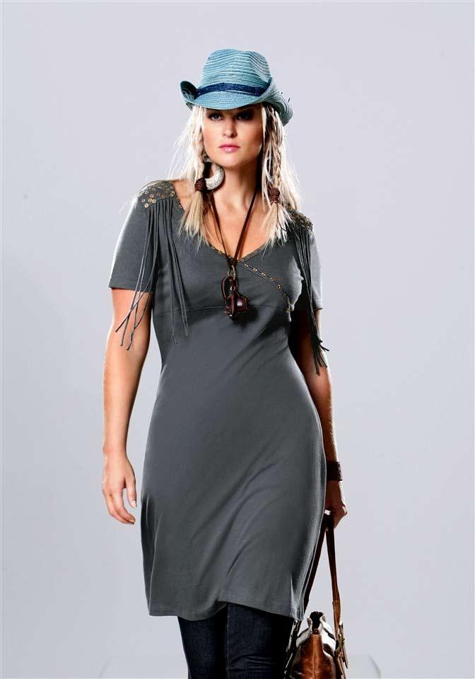 Šaty s třásněmi, šaty nadměrné velikosti, Your Life Your Fashion (vel.52,56 skladem)
