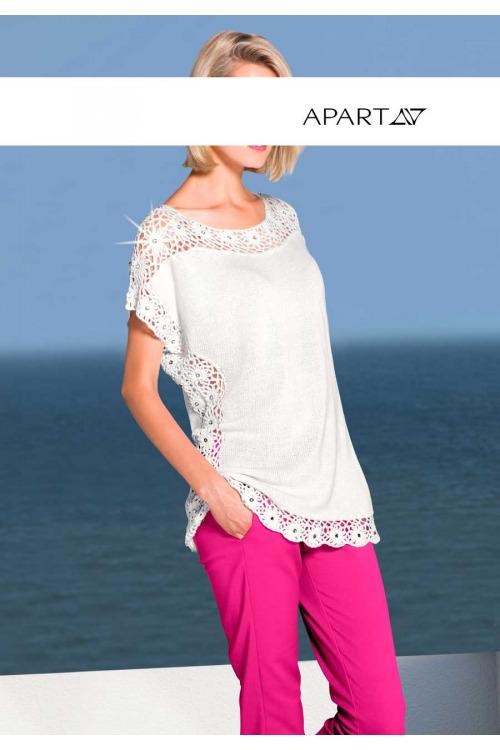 Letní háčkovaný svetr APART