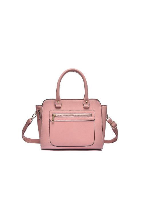 Růžová taška, kabelka přes rameno Kaytie Wu (1 ks skladem)