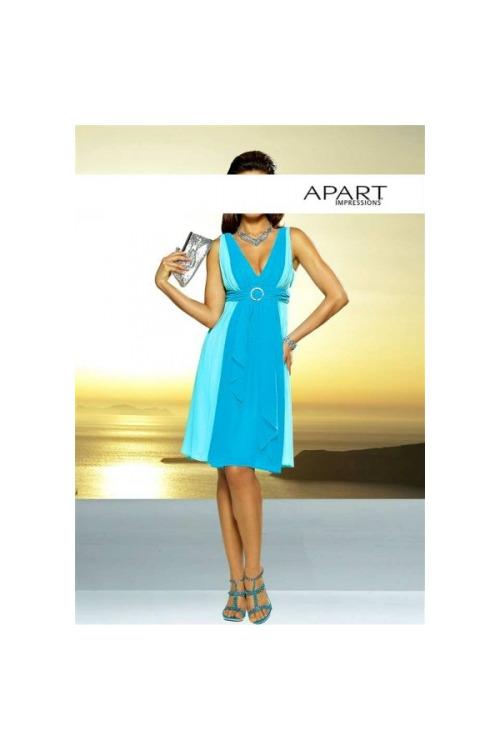 Šaty babydoll APART (vel.40 skadem)