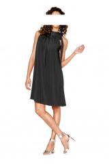Černé žerzejové šaty HEINE