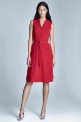 Šaty NIFE, propínací šaty s kapsami (vel.40 skladem)