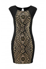 Šaty na párty, šaty zdobené flitry Laura Scott (vel.38 skladem)