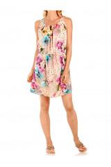 Květinové letní šaty Rick Cardona (vel.36,46 skladem)