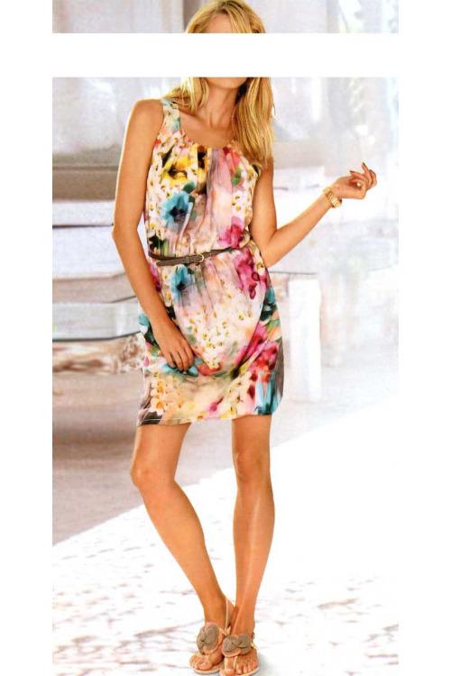 Květinové letní šaty Rick Cardona (vel.36,44,46 skladem)