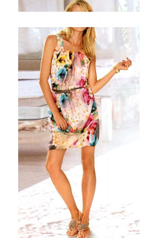 Skladem Květinové letní šaty Rick Cardona (vel.36 d91038568d