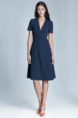 Šaty NIFE, šaty do kanceláře (vel.40 skladem)