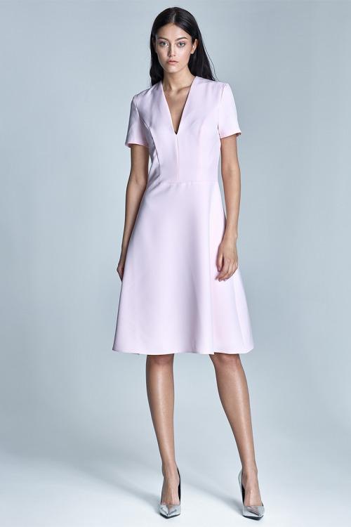 Šaty NIFE, šaty do kanceláře (vel.42 skladem)