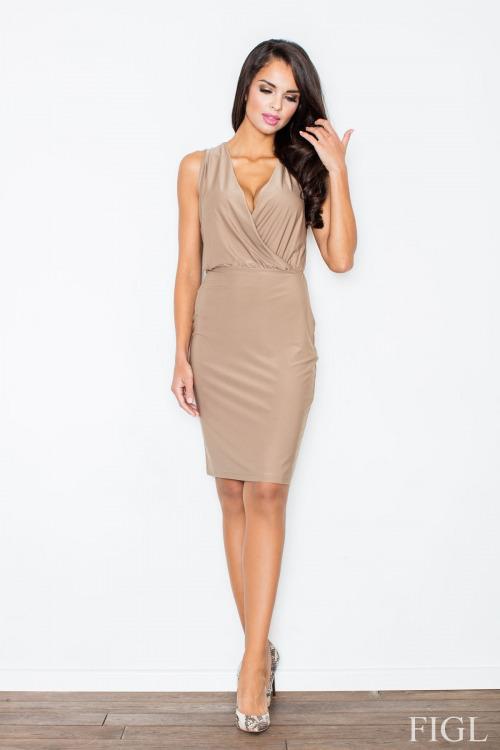 Elegantní móda, zavinovací šaty FIGL