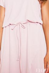 Dámské šaty, delší asymetrické šaty FIGL