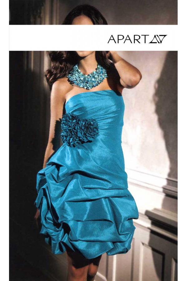 Skladem Taftové koktejlové šaty APART (vel.34 skladem) 9b975014f4