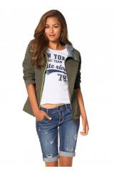 Lehká jarní nebo letní bunda AJC, dívčí móda, móda pro mladé
