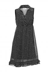 Šifonové šaty Linea Tesini (vel.34 skladem)