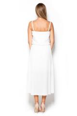 Šaty KATRUS, asymetrické letní šaty na ramínka