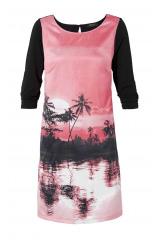 Romantické tunikové šaty Anna Scholz (vel.44 skladem)