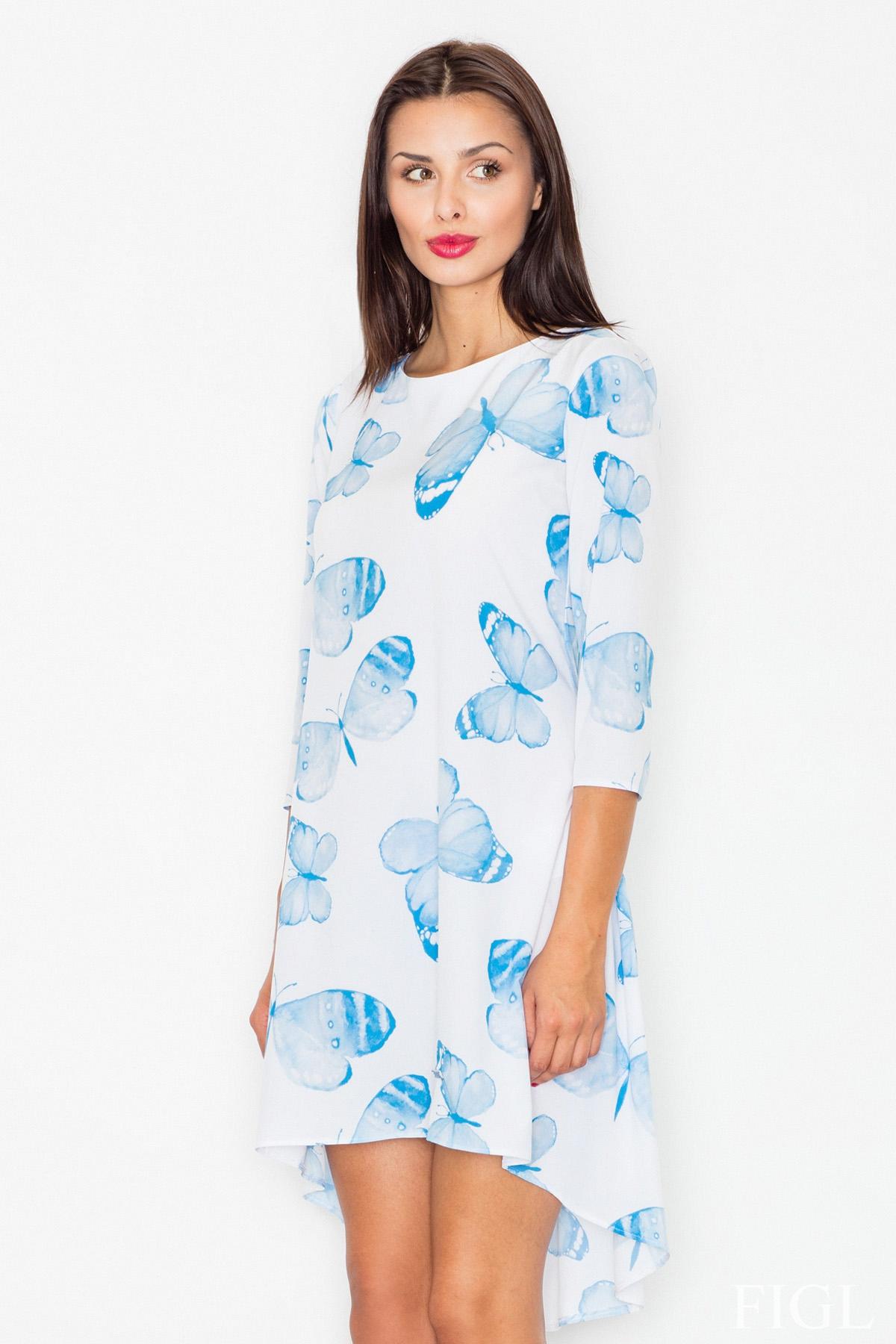 Asymetrické šaty FIGL