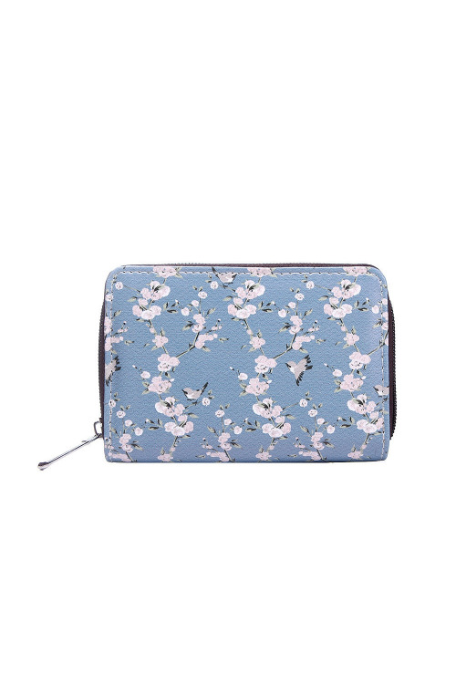 Dámská peněženka s květinami, Kaytie Wu (1 ks)